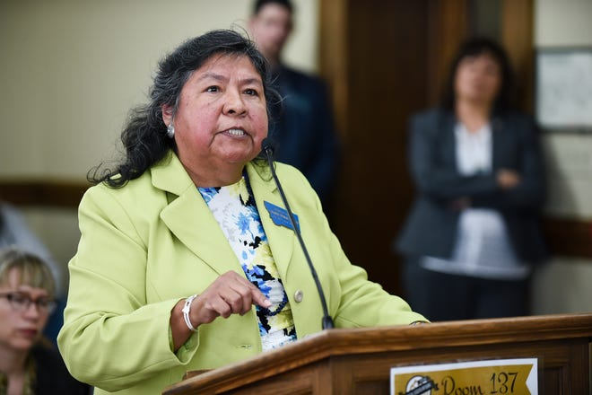 Rep. Sharon Stewart Peregoy sponsored HB 613, the Native American Voting Rights Act.