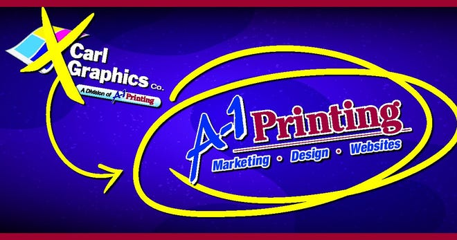Branding for Carl Graphics has changed to A-1 Printing.