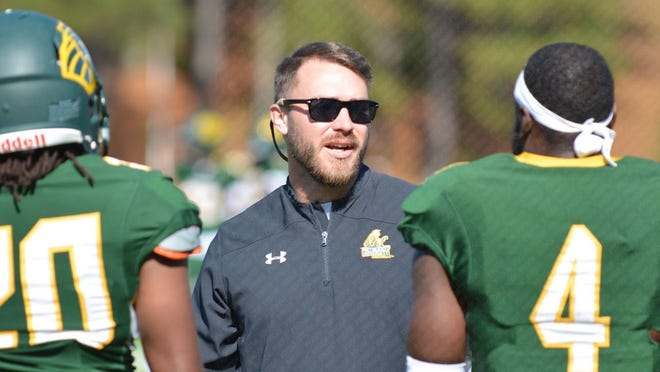Jason Rice spent two seasons as the running backs coach at Methodist University in North Carolina before being hired as Northern Lebanon's new head coach on Tuesday.