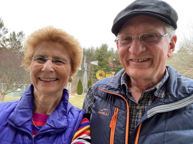 Marysville residents Keith and Linda Marthen