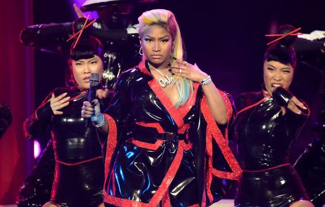 "Nicki Minaj got on Instagram to celebrate the resurgence of her mixtape ""Beam Me Up Scotty."""