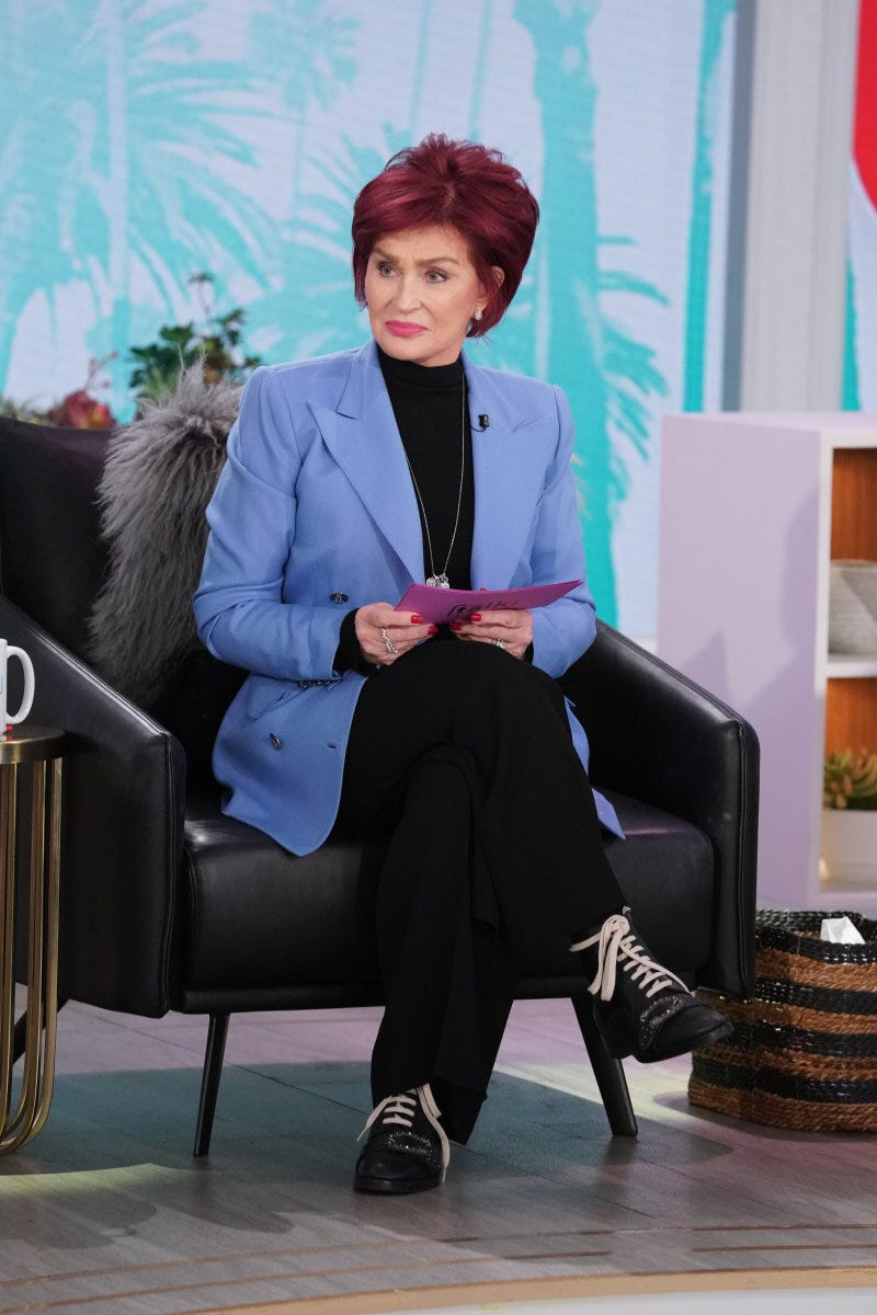 Sharon Osbourne Calls Talk Controversy A Set Up Show Extends Hiatus