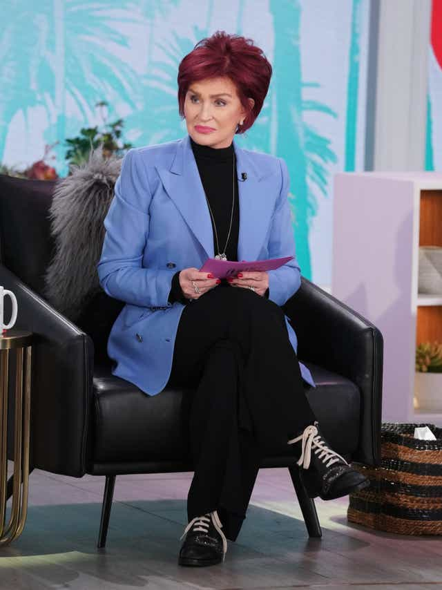 Sharon Osbourne Calls Talk Controversy A Set Up Show Extends Hiatus