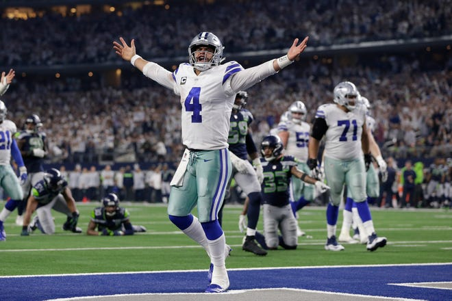 Cowboys quarterback Dak Prescott has started 69 games since being drafted by Dallas in 2016.