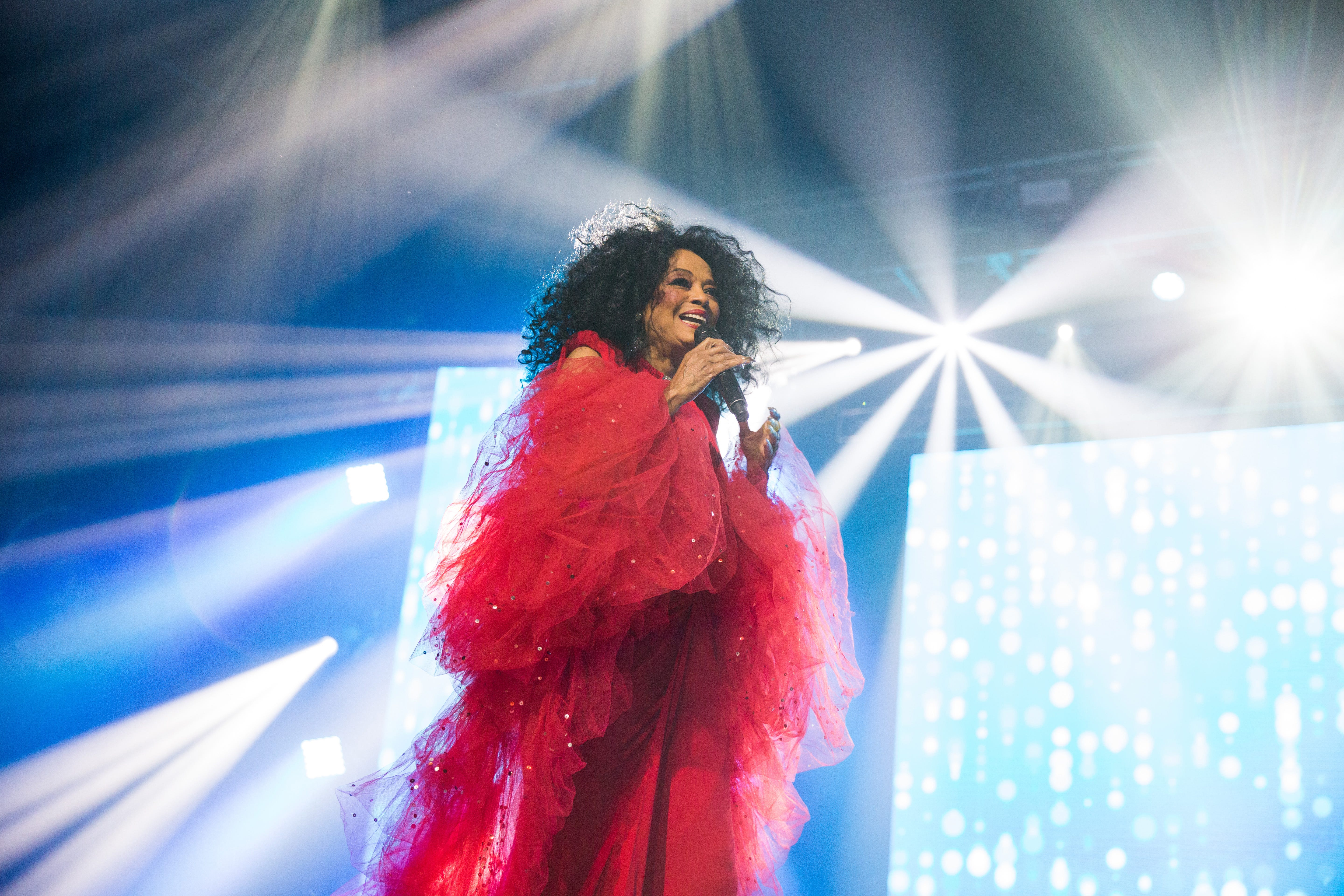 When Diana Ross walked into Nick Tahou's, the joint went wild, a witness says.