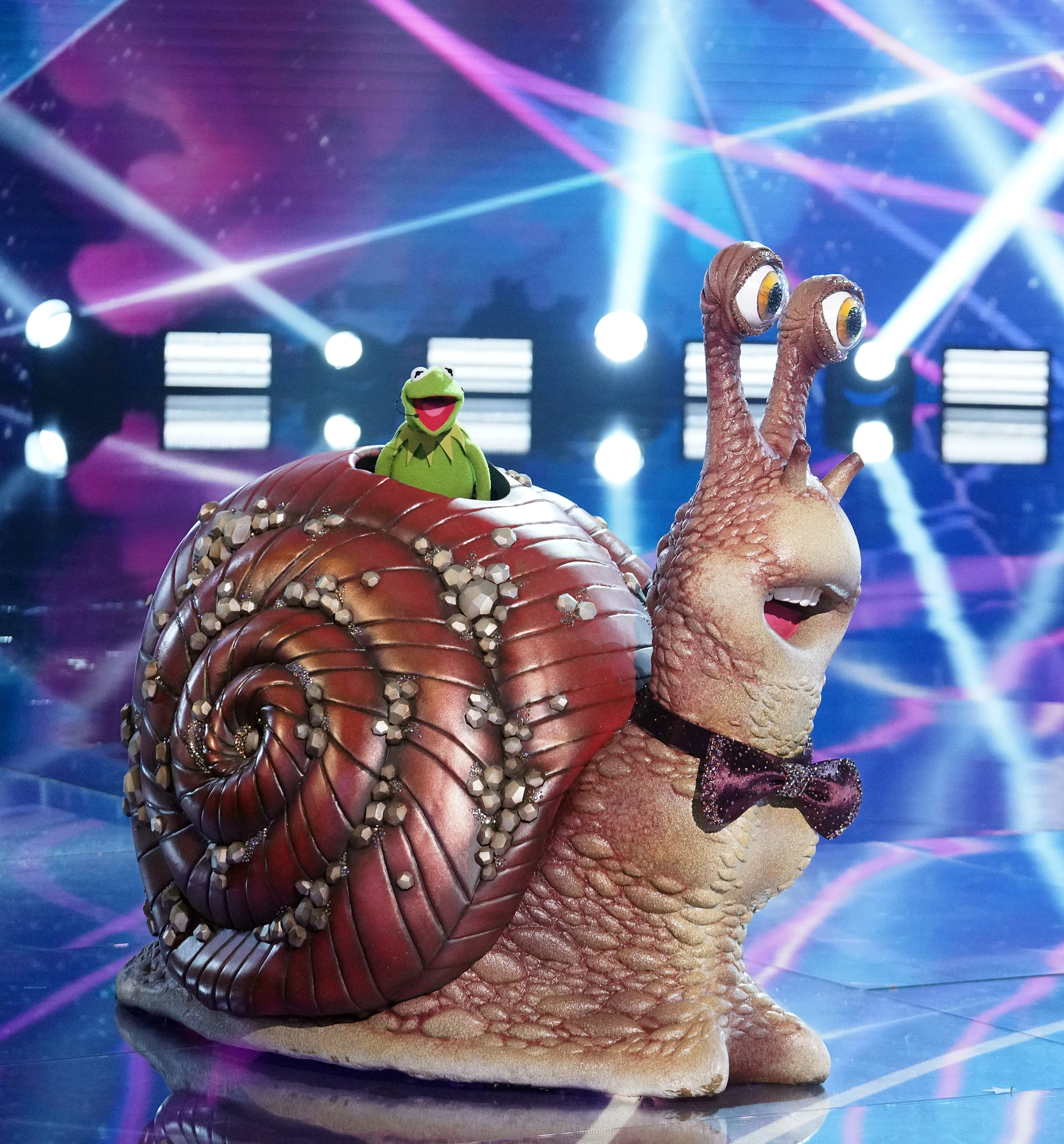 Masked Singer  premiere: Snail is slugged by competition, revealed to be Kermit the Frog