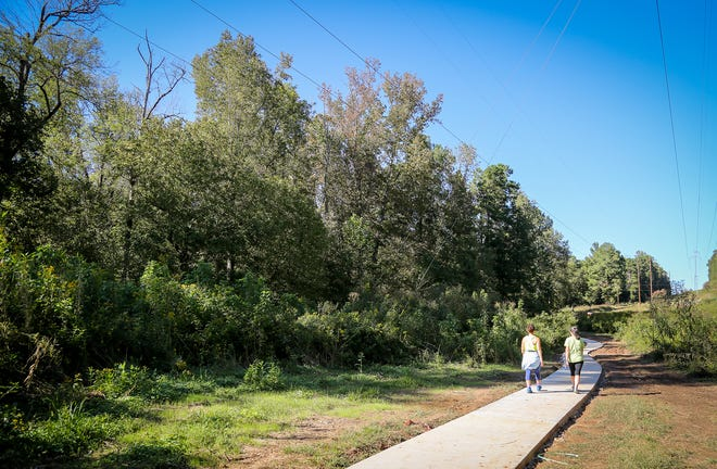 An improved section of trail at the State Botanical Garden of Georgia. (Photo by Shannah Montgomery)