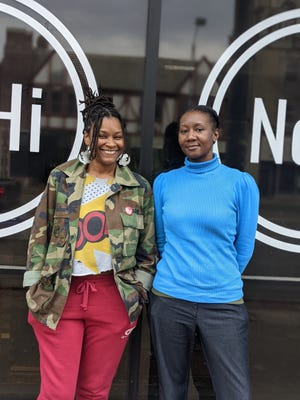 Chefs Tameika Ginee, left, and Jasmin Evans, right, will take over the kitchen at Akron's NoHi Pop-up this weekend.