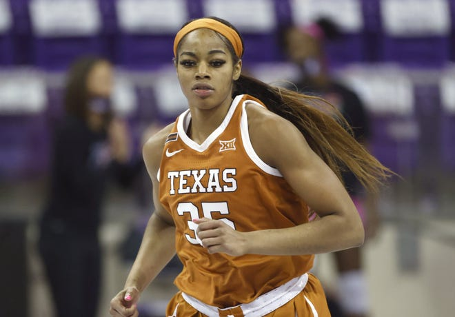 Texas forward Charli Collier led the Longhorns to the Elite Eight of the 2021 NCAA women's basketball tournament.