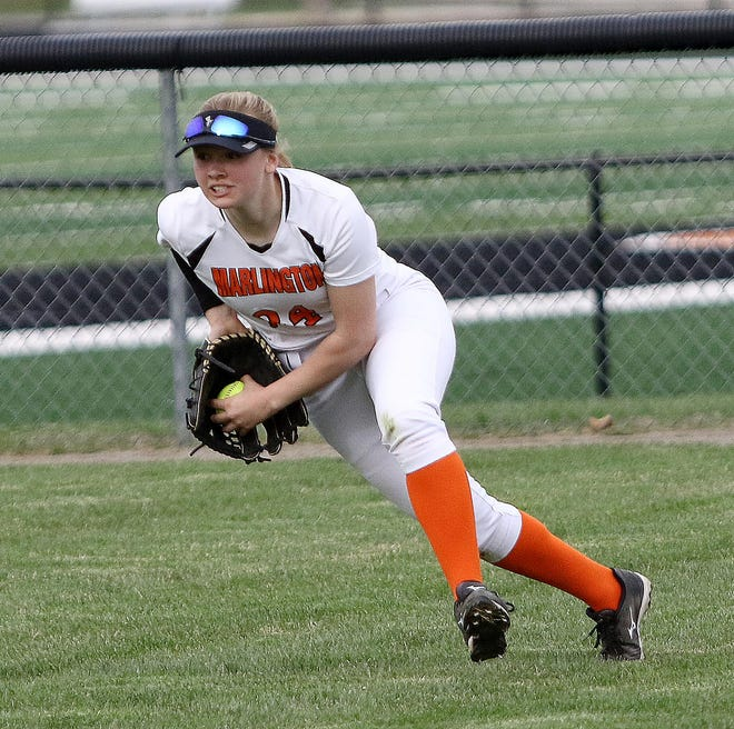 Marlington softball standout Angela Cirone has signed to play at the University of Akron.