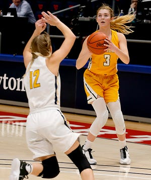 Waynedale's Kelsey Wolfe earned special mention All-Ohio honors in basketball after leading the Golden Bears to their first ever regional title.