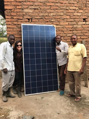 Over the past six years, over the course of two degrees and through homework and a full-time job alike, Hosseini has completed four projects, all focusing on bringing clean, quality water to Ugandan villages that desperately need it.