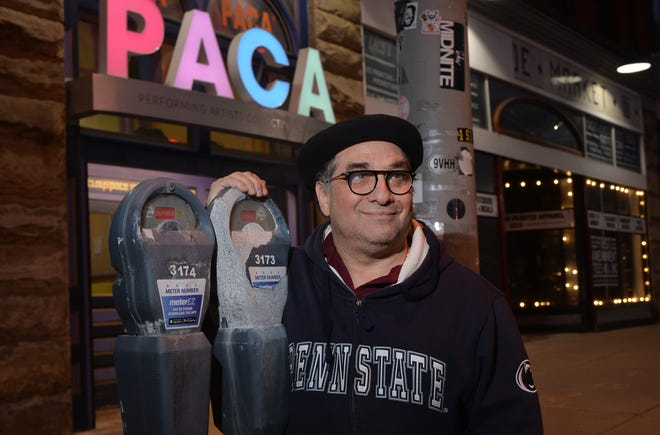 Performing Artists Collective Alliance owner Mark Tanenbaum is shown March 11, 2021, near the PACA building in the 1500 block of State Street in Erie.