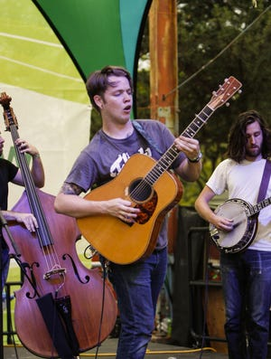 Billy Strings plays three sold-out socially distanced shows this weekend at the St. Augustine Amphitheatre.