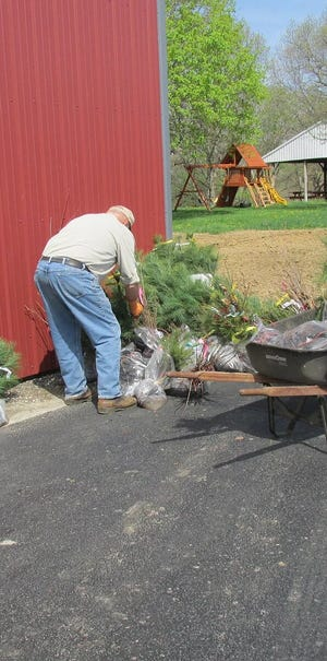 The Knox County Soil and Water Conservation District is conducting sales of bare-root tree seedlings, fish for pond stocking and native plant plugs, with all proceeds benefiting conservation education programs offered by the Knox County SWCD.