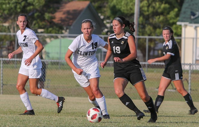 Croatan's Logan Howard (19) is one of the top returning girls' soccer players in the area. [Tina Brooks/The Daily News]