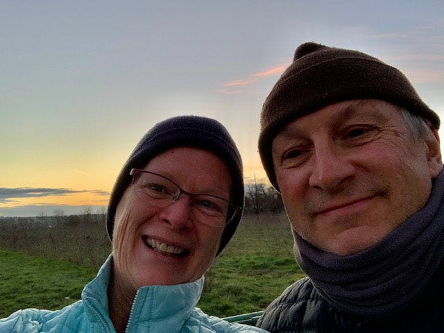 Fairfield Harbour residents Nancy and Tony Difede headed to Europe in March 2020 to begin a cycling tour of Europe. COVID-19 necessitated them making alternate plans for a few months, but their tour now continues. [CONTRIBUTED PHOTO]