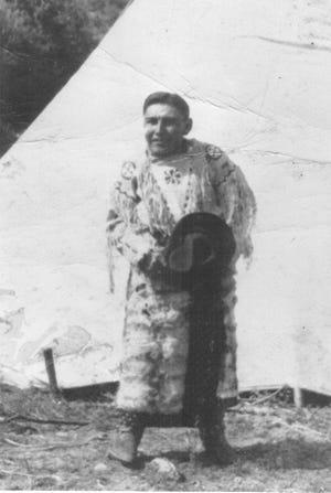 Percy Big Mouth was a Mescalero Apache born in 1889.