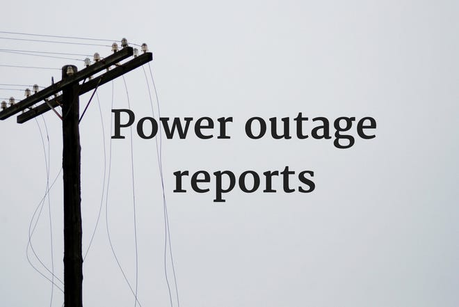 Power outage reports