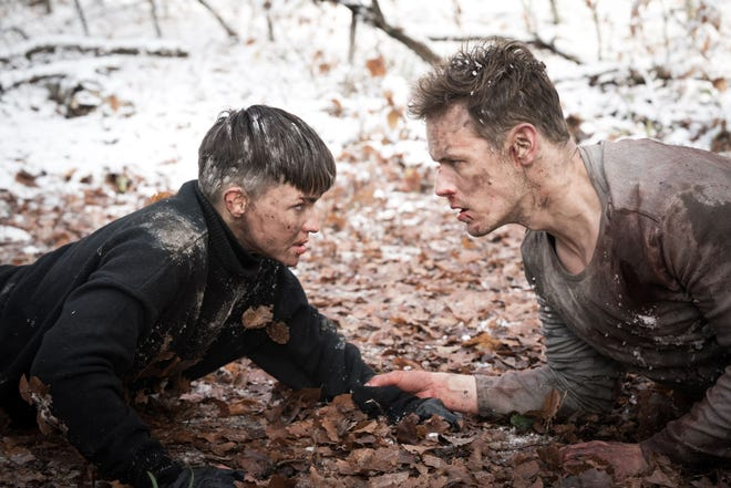 It comes down to a stand-off between villain Grace (Ruby Rose) and hero Tom (Sam Heughan.)