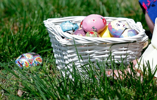 A community Easter Egg Hunt is being planned for Saturday, March 27 in Bingham Park, courtesy Hawley Borough.