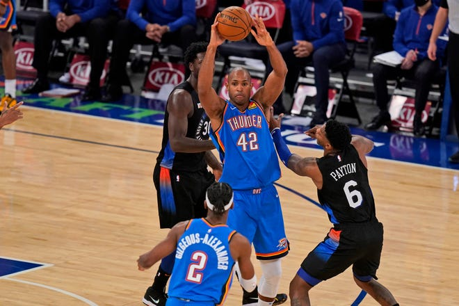 The Thunder and Knicks will meet Saturday for the second time this season.