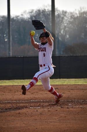 Grace Vesco, St. Francis softball (Victoria Hernandez)