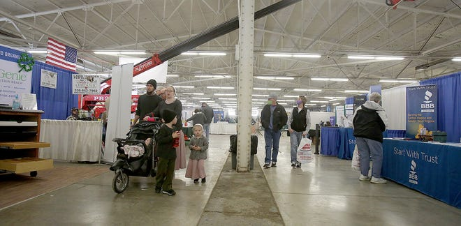 The Stark County Home & Garden Show will take place this weekend at the Stark County Fairgrounds in Canton. Last year the event was cancelled because of the coronavirus pandemic.