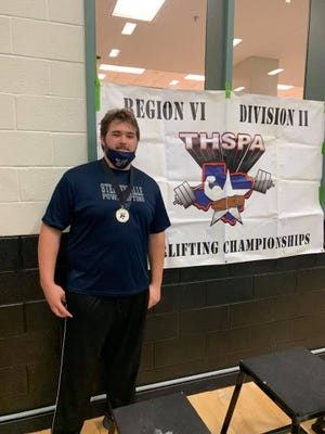 Stephenville High School's Logan Davis recently took second at the boys powerlifting Regional Meet at Kennedale. The performance earned him a trip to the state meet.