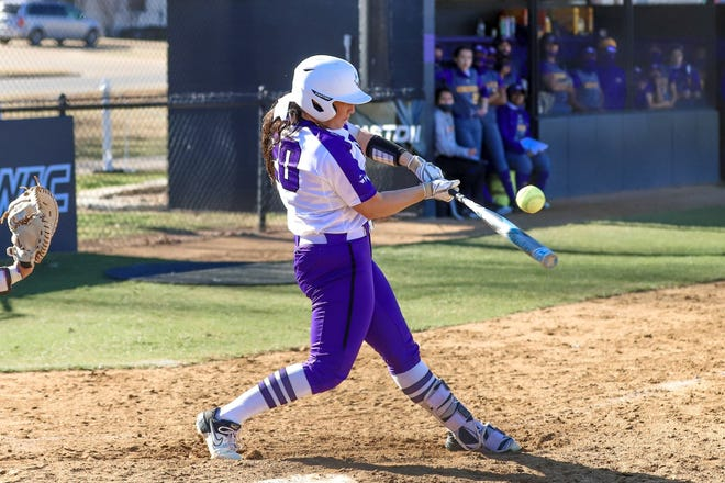 Tarleton's Destiny Crumpley had 2 RBI and a sacrifice fly in the Texans' 11-3 rout of Prairie View A&M in game one of their doubleheader on Wednesday.