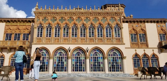 The Ringling, which contains the Ca' d'Zan mansion (pictured), is one our list of best places to visit in Sarasota.