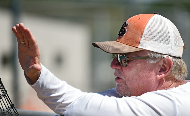Sarasota High's Clyde Metcalf has been the Sailors head baseball coach for 38 years. On March 13, 2020, the game against Sarasota-Tallahassee Lincoln may have been one of his more memorable – the final game his team played in 2020 because of COVID-19 concerns.