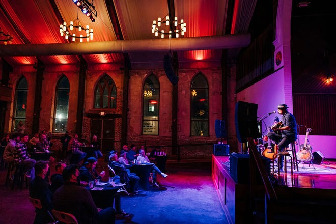 In January, touring blues musician G Love played to a socially distanced crowd of 40 or so at the Brooklyn Arts Center. The concert helped spawn the idea for a dinner-and-a-show series of touring acts coming to the BAC in March and April.