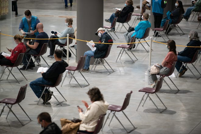 A mass vaccination site at the Stormont Vail Events Center will close  July 9.