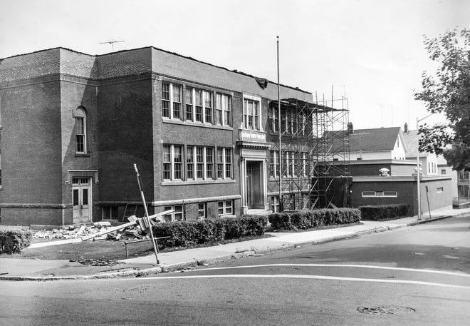 The Lee Street School in Worcester, August 1964.