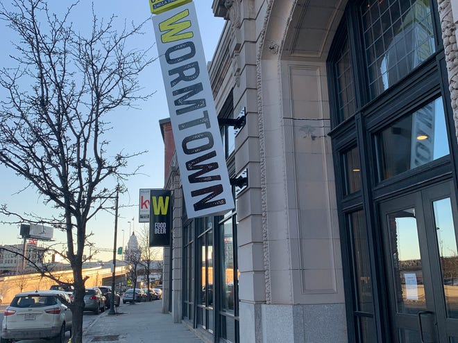 """Wormtown Brewery in Worcester is celebrating its 11th anniversary next week by unveiling a new taproom and soon-to-be """"brewstillery"""" for the first time."""