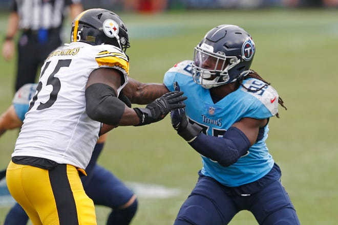 Tennessee linebacker Jadeveon Clowney was hampered by injuries last season, but he's still a premier pass rusher in the NFL and could help the Patriots.