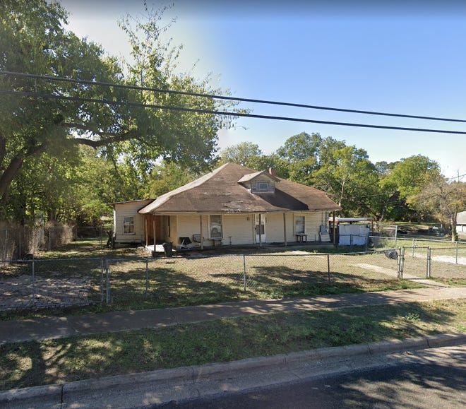 This former house at 604 Martin Luther King Jr. Boulevard may soon be replaced by two smaller houses after the Waxahachie Planning & Zoning Commission approved a replat of the property Tuesday night.