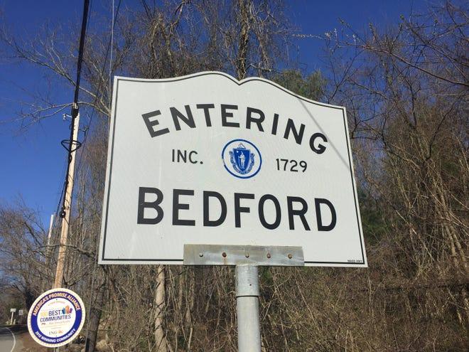 Bedford sign.