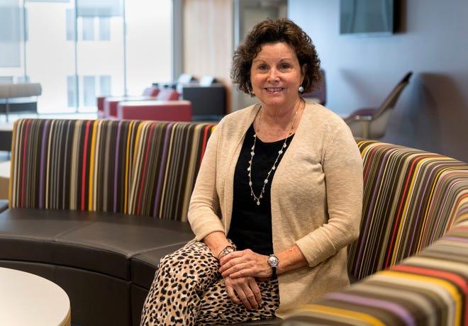 University of Southern Indiana nursing professor Julie St. Clair.