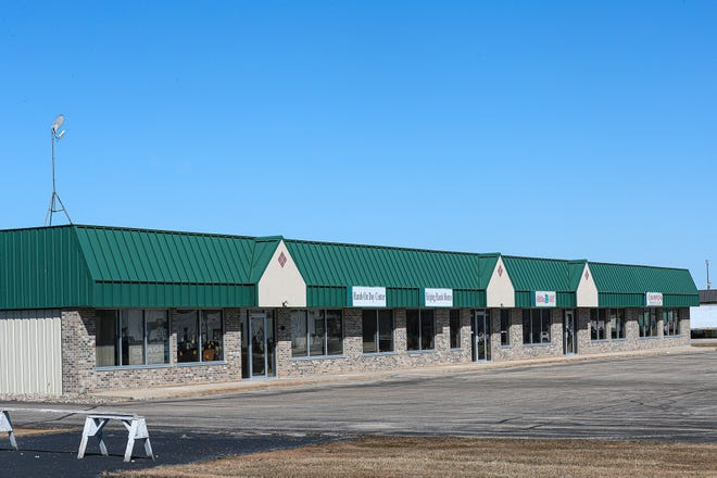 Fond du Lac County is set to purchase this strip mall at 848 S. Military Road for the new location of its land and water conservation department.