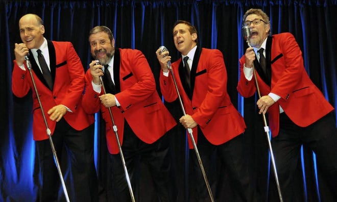 """""""The Clergy Boys"""" will perform cantorial pieces as well as Broadway, opera and secular music from the '60s and '70s at the Palm Springs Cultural Center, April 5-7, 2021."""