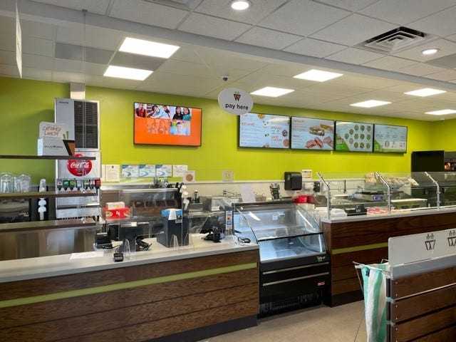 Saladworks' first Reno store on 5150 Mae Anne Ave. in Reno a few days prior to its March 17, 2021 opening. It is the first Saladworks location in Nevada.