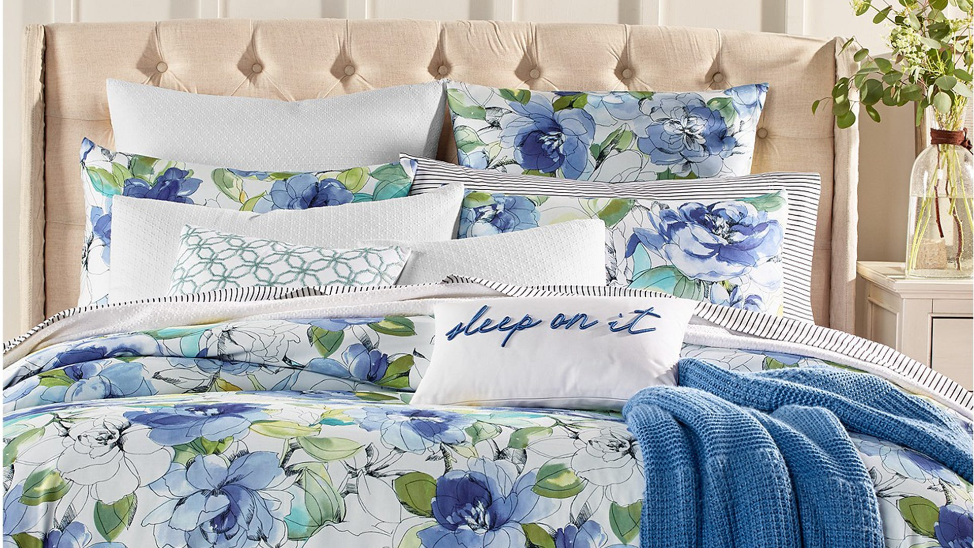 Macy's bedding Shop three  and eight piece sets for from as low ...
