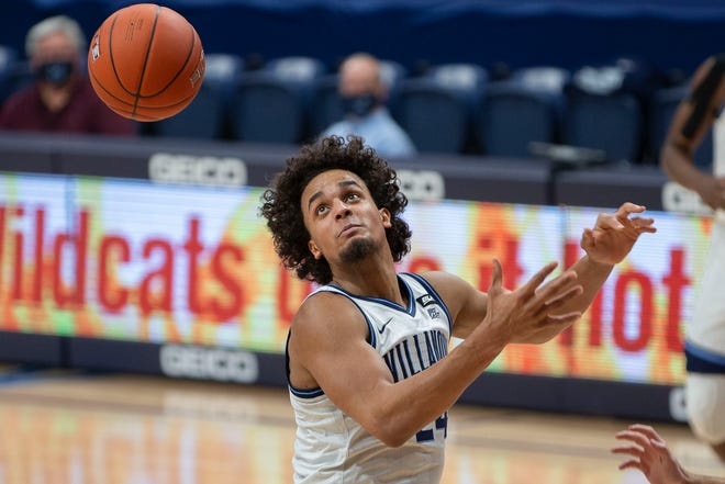 Villanova forward Jeremiah Robinson-Earl may have to further elevate his game if the Wildcats want to have a deep run in the NCAA Tournament.