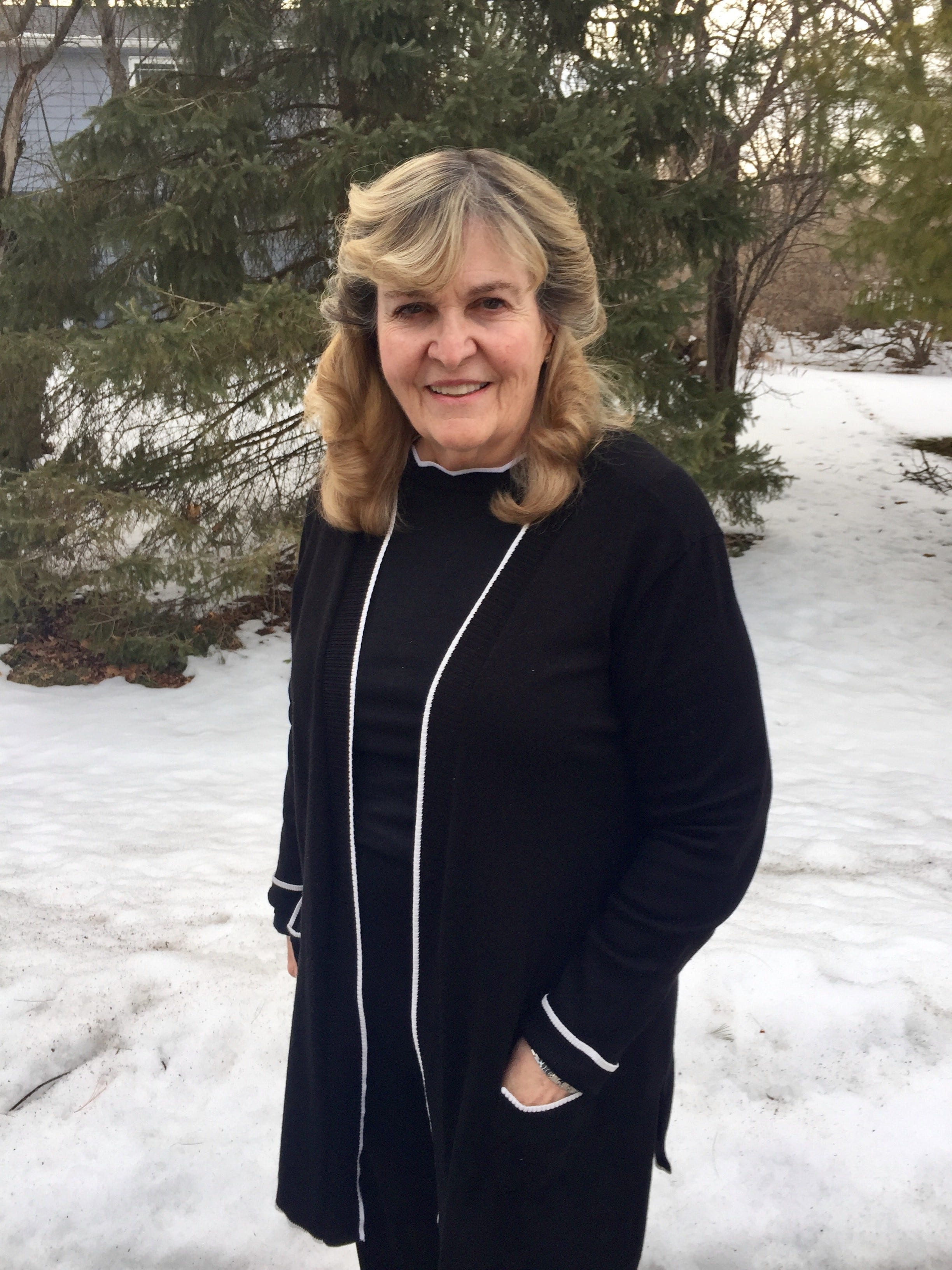 """""""I feel like I was the lucky one to have that opportunity to merge my perceptions with someone else's perceptions, and come out with a new perception afterwards,"""" said Elise Mull, 70. """"What a great gift that is."""""""
