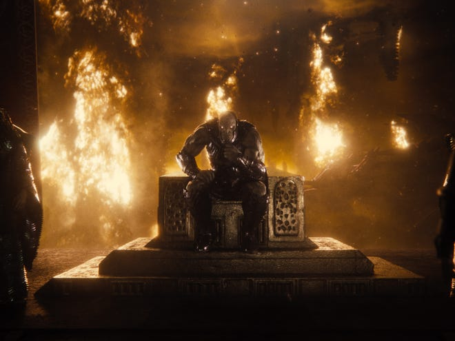 """DC's resident major cosmic baddie Darkseid makes his big computer-generated debut in """"Zack Snyder's Justice League."""""""
