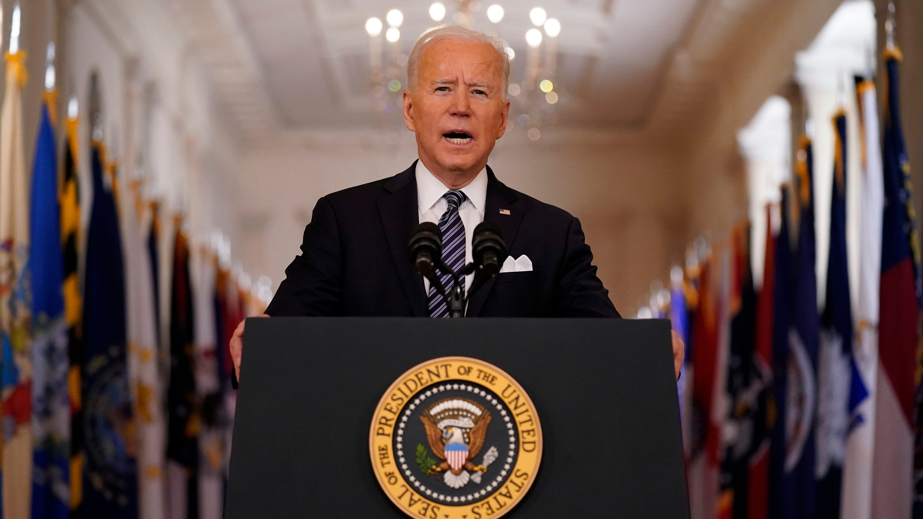 www.usatoday.com: 'It's wrong, it's un-American and it must stop': President Biden denounces attacks against Asian Americans