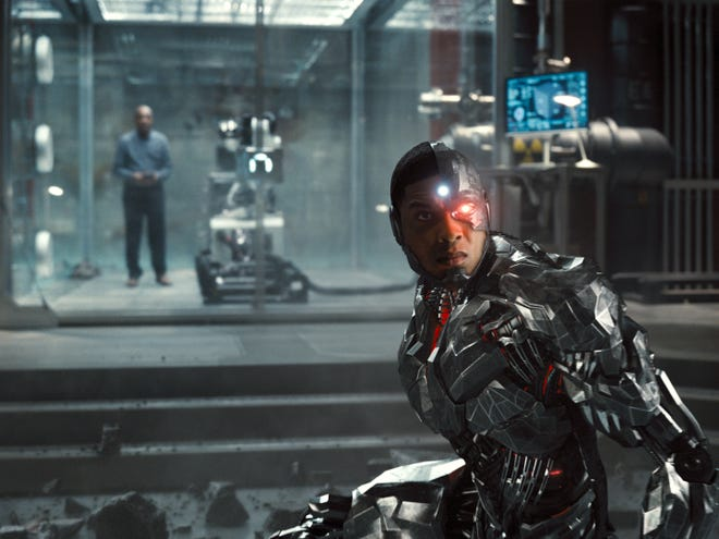 """Cyborg (Ray Fisher) has his backstory restored in """"Zack Snyder's Justice League."""""""