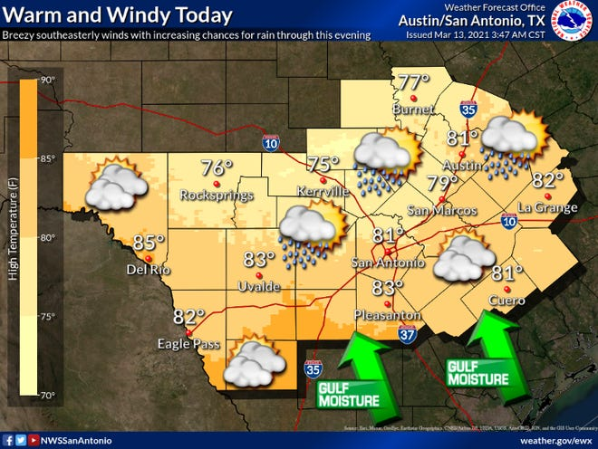 Graphic courtesy of National Weather Service